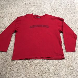 Men's XL Abercrombie & Fitch embroidered shirt.